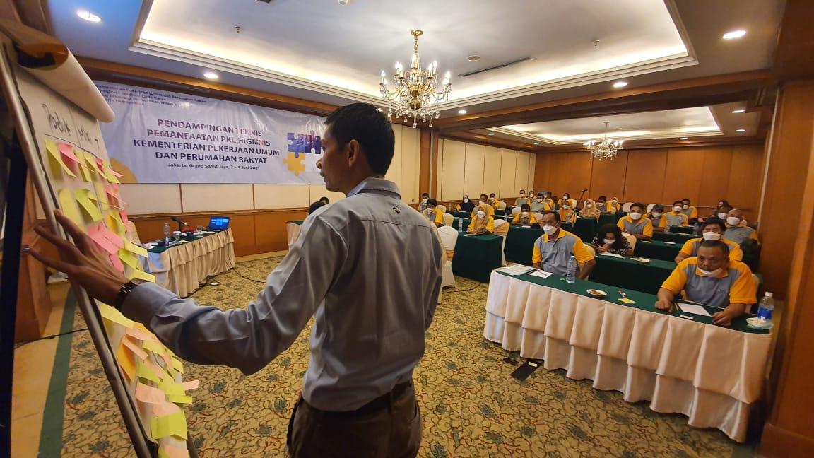 Pendampingan Teknis Pemanfaatan PKL Higienis Kementerian PUPR