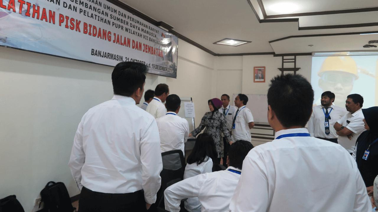 Pelatihan Character Building Kementrian PUPR Pejabat Inti Satuan Kerja Jalan & Jembatan Banjarmasin