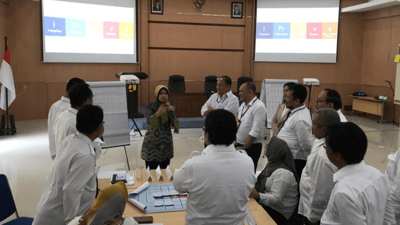Pelatihan Character Building Kementrian PUPR Pejabat Inti Satuan Kerja (PISK) Permukiman Surabaya